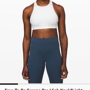 "lululemon athletica Intimates & Sleepwear - LULULEMON ""Free To Be Serene High Neck Sports Bra"""